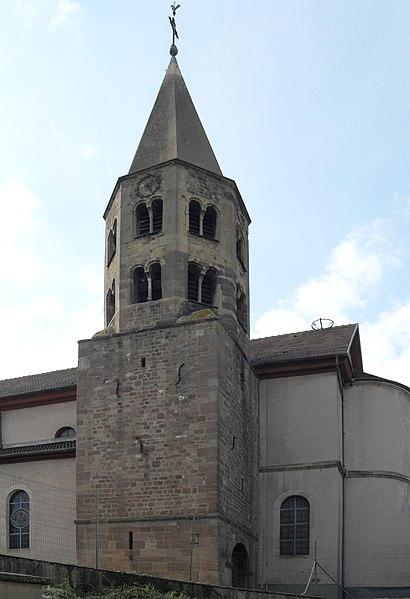 Photo du Monument Historique Eglise Sainte-Agathe situé à Gundolsheim