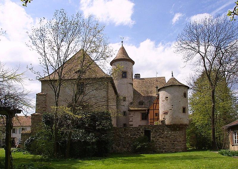 Photo du Monument Historique Château situé à Hartmannswiller