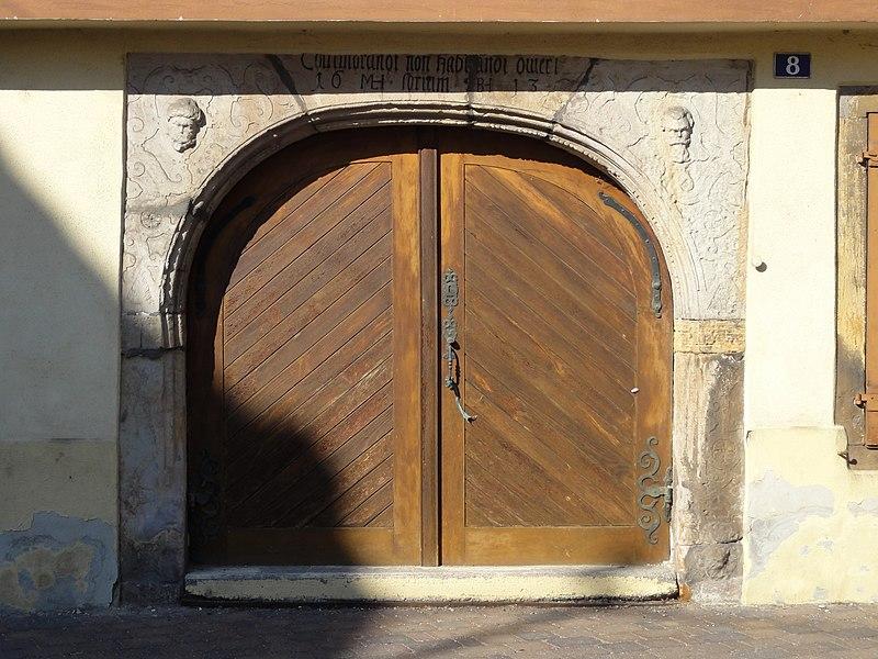 Photo du Monument Historique Maison situé à Herrlisheim-près-Colmar