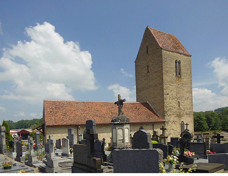 Photo du Monument Historique Chapelle Saint-Martin dite Burnkirch situé à Illfurth
