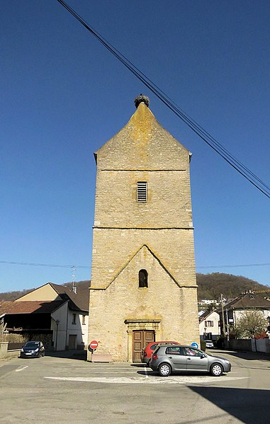 Photo du Monument Historique Ancienne église catholique Saint-Martin, actuellement dépot communal situé à Illfurth