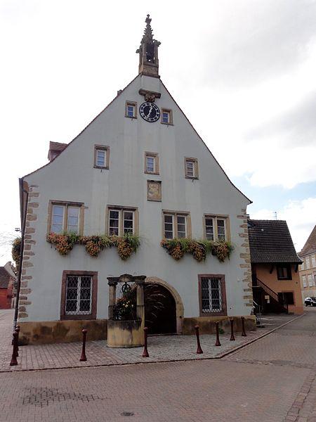 Photo du Monument Historique Ancienne mairie situé à Ingersheim