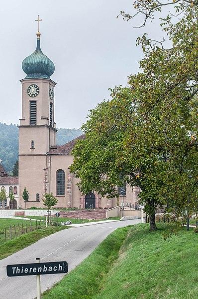 Photo du Monument Historique Eglise catholique Sainte-Marie-Auxiliatrice, dite basilique Notre-Dame-de-Thierenbach situé à Jungholtz