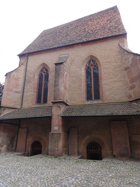 Photo du Monument Historique Chapelle Saint-Michel et son ossuaire (chapelle inférieure) situé à Kaysersberg
