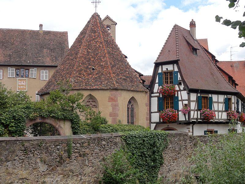 Photo du Monument Historique Chapelle de l'Oberhof dite Notre-Dame du Scapulaire situé à Kaysersberg