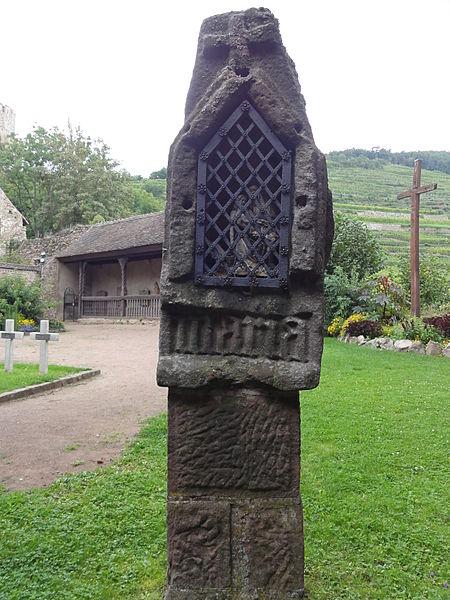 Photo du Monument Historique Edicule dit galerie du Mont-des-Oliviers situé à Kaysersberg