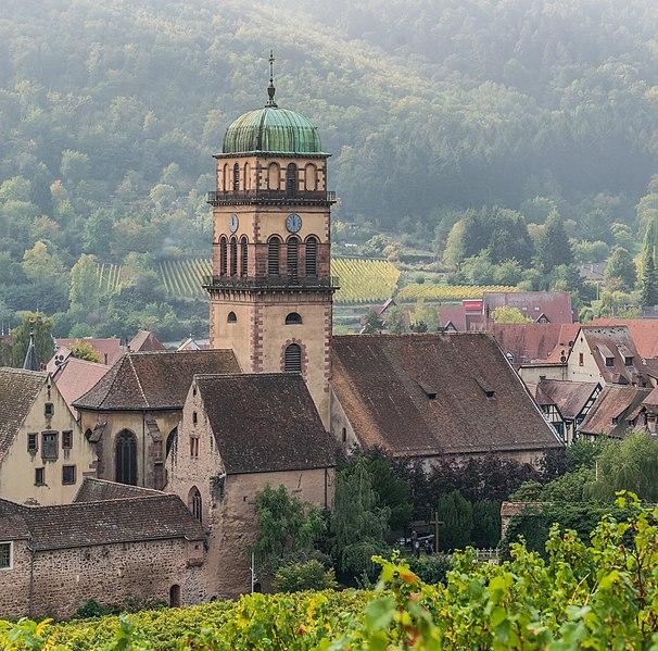 Photo du Monument Historique Eglise catholique de l'Invention de la Sainte-Croix situé à Kaysersberg