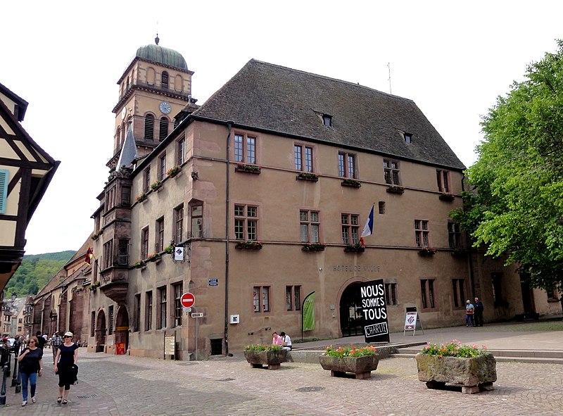 Photo du Monument Historique Hôtel de ville situé à Kaysersberg