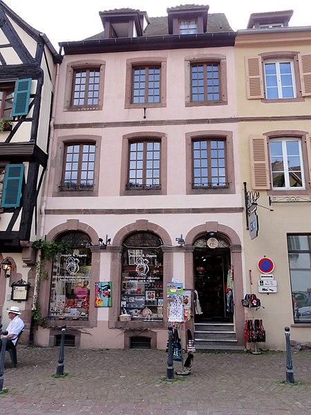 Photo du Monument Historique Immeuble situé à Kaysersberg