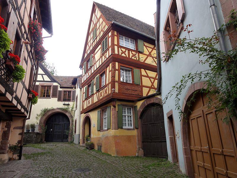 Photo du Monument Historique Maison dite maison Keith situé à Kaysersberg