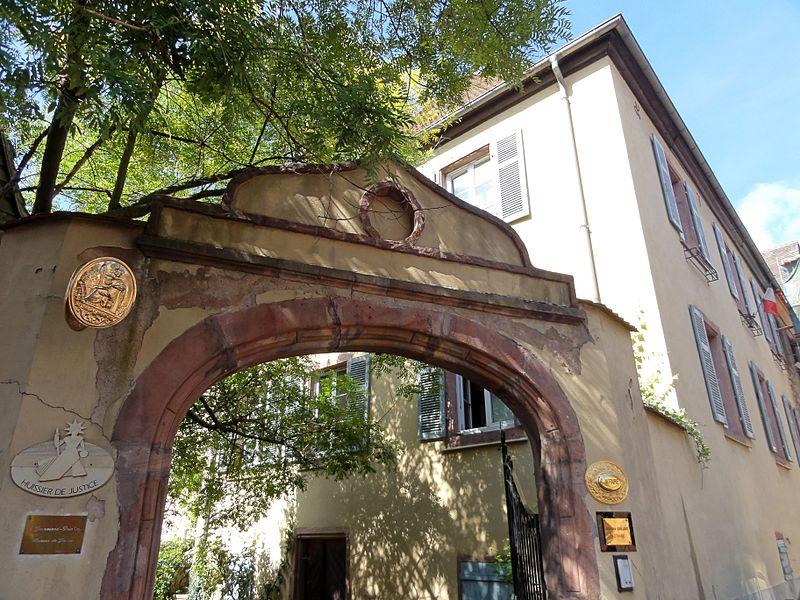 Photo du Monument Historique Ancienne maison Huffel situé à Kaysersberg