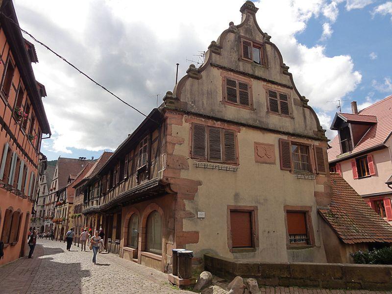 Photo du Monument Historique Maison situé à Kaysersberg