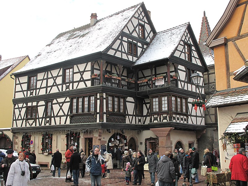Photo du Monument Historique Maison Brief-Faller situé à Kaysersberg