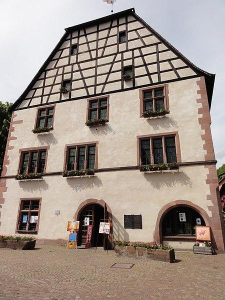Photo du Monument Historique Ancienne maison des Bains situé à Kaysersberg
