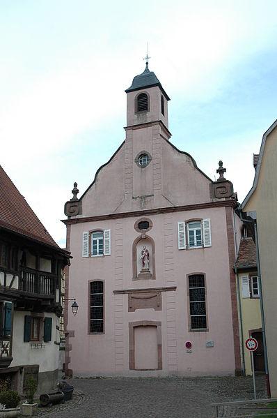 Photo du Monument Historique Ancien monastère situé à Kaysersberg