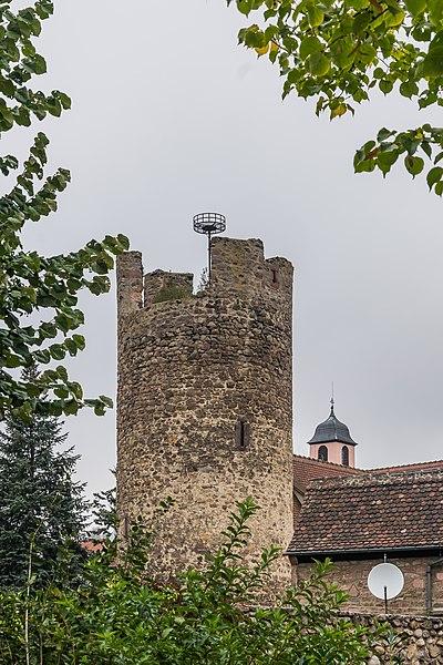 Photo du Monument Historique Tour dite de l'Hôpital situé à Kaysersberg
