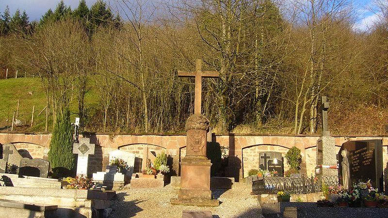 Photo du Monument Historique Cimetière situé à Lièpvre