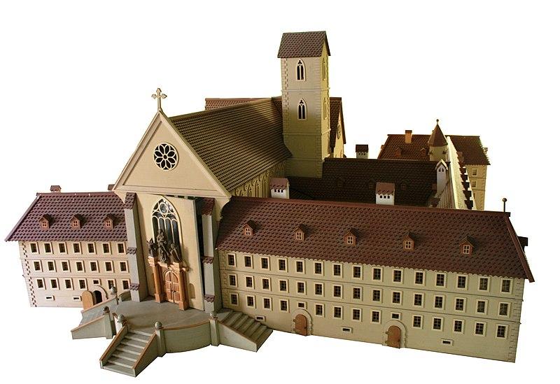 Photo du Monument Historique Ancienne abbaye cistercienne de Lucelle situé à Lucelle