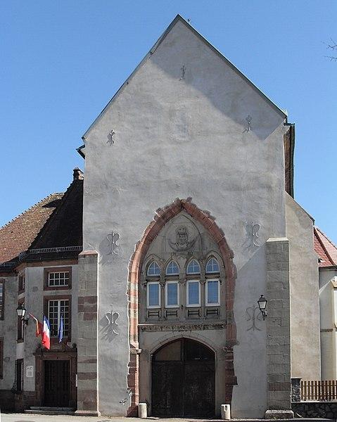 Photo du Monument Historique Ancienne abbaye situé à Masevaux