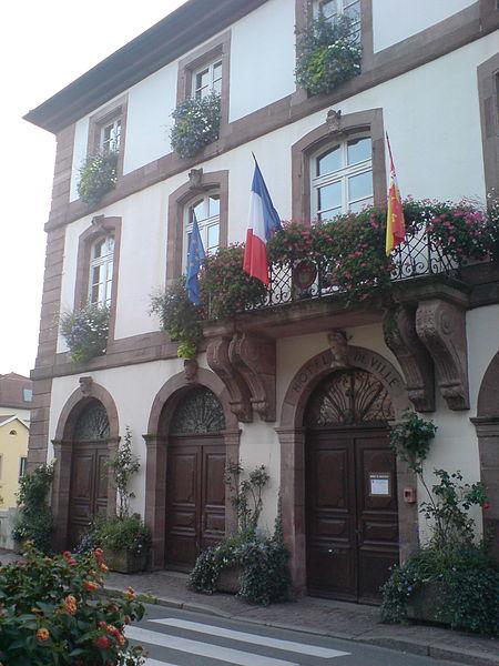 Photo du Monument Historique Hôtel de ville situé à Masevaux