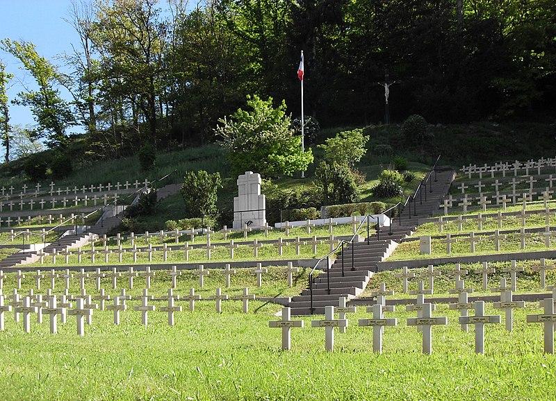 Photo du Monument Historique Cimetière militaire situé à Moosch