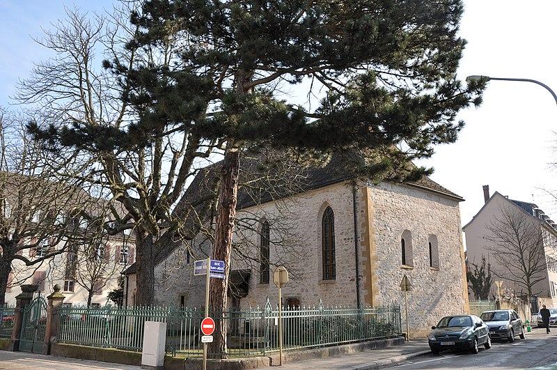 Photo du Monument Historique Chapelle Saint-Jean situé à Mulhouse