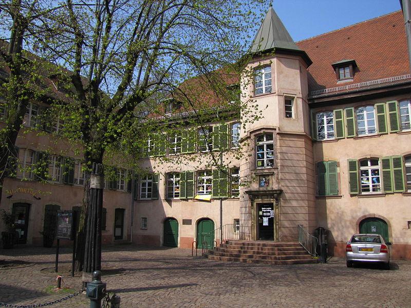 Photo du Monument Historique Cour des Chaînes situé à Mulhouse