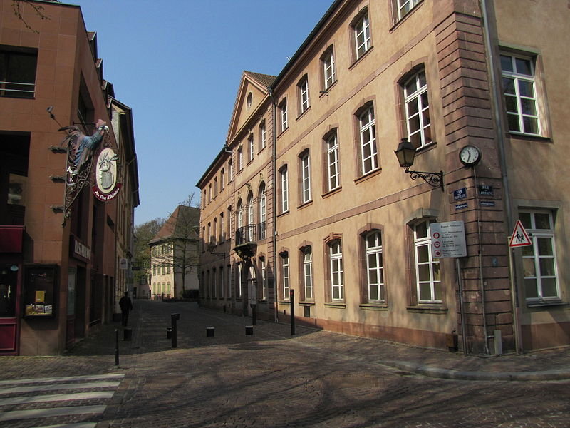 Photo du Monument Historique Cour de Lorraine situé à Mulhouse