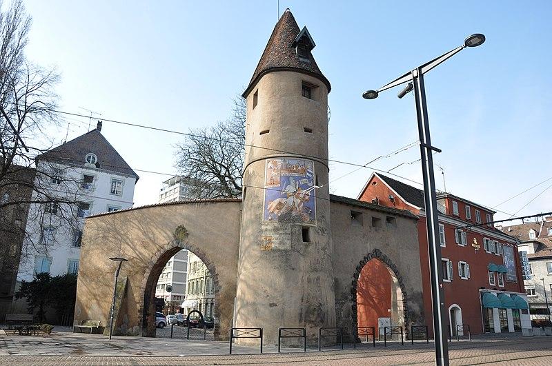 Photo du Monument Historique Anciennes fortifications situé à Mulhouse