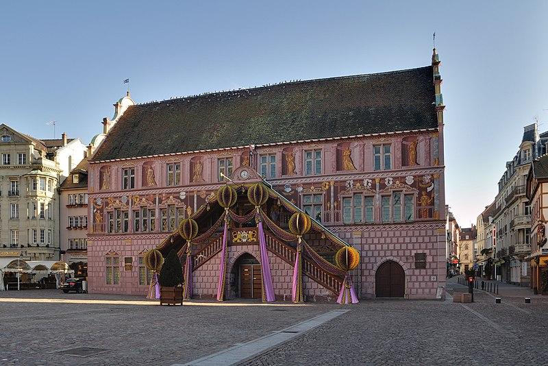 Photo du Monument Historique Ancien hôtel de ville, actuellement Musée historique situé à Mulhouse
