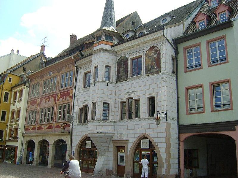 Photo du Monument Historique Ancienne maison Mieg situé à Mulhouse