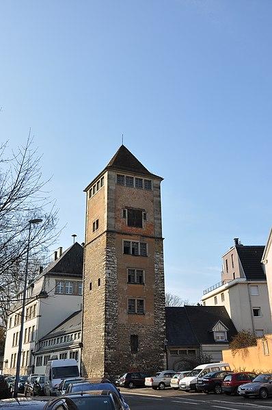 Photo du Monument Historique Tour du Diable situé à Mulhouse