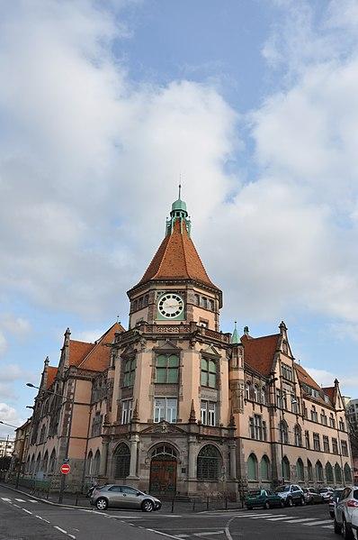 Photo du Monument Historique Tribunal d'Instance situé à Mulhouse