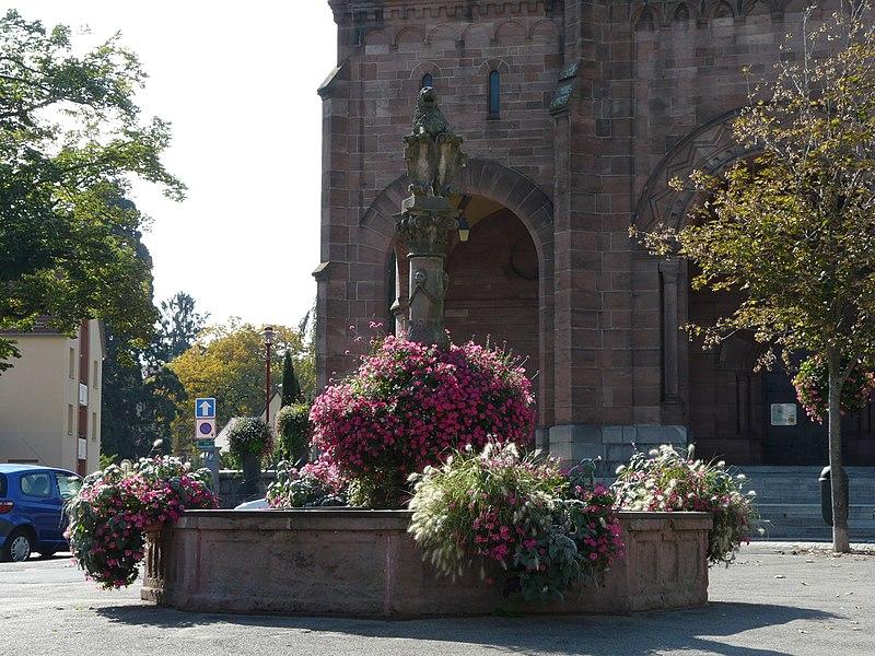 Photo du Monument Historique Fontaine situé à Munster