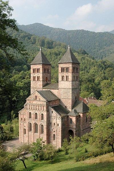 Photo du Monument Historique Ancienne abbaye situé à Murbach
