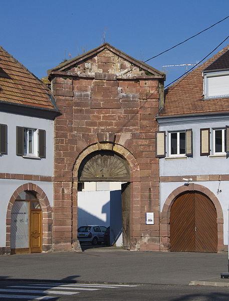 Photo du Monument Historique Ancien arsenal situé à Neuf-Brisach