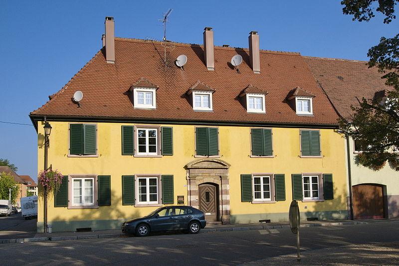 Photo du Monument Historique Maison d'officiers situé à Neuf-Brisach