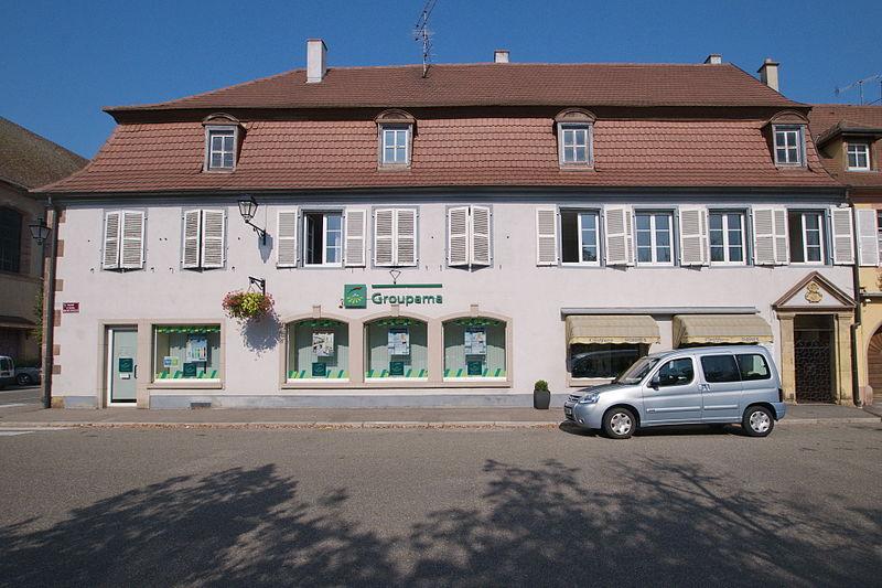 Photo du Monument Historique Maison Grünwasser situé à Neuf-Brisach