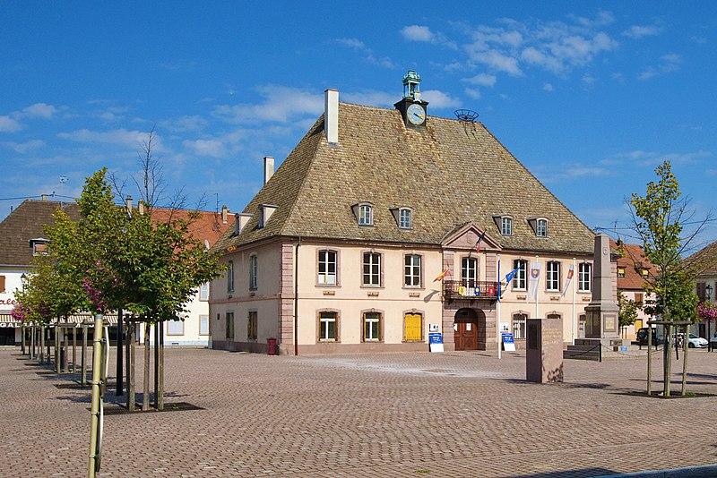Photo du Monument Historique Mairie situé à Neuf-Brisach