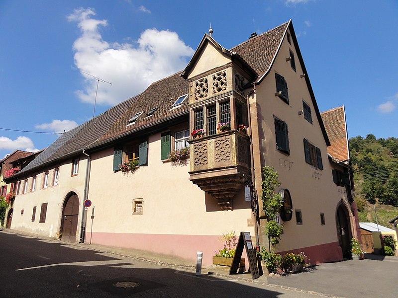 Photo du Monument Historique Maison situé à Niedermorschwihr