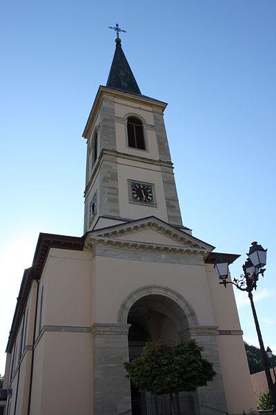 Photo du Monument Historique Chapelle Saint-Martin (chapelle du cimetière) situé à Oltingue