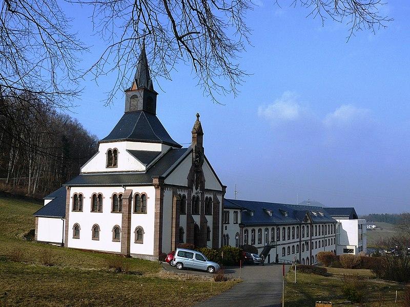 Photo du Monument Historique Ancienne abbaye de Pairis situé à Orbey