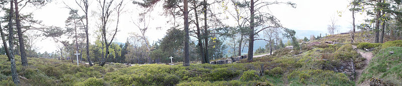 Photo du Monument Historique Champ de bataille du Linge situé à Orbey
