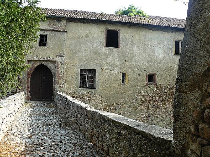 Photo du Monument Historique Ancien château situé à Orschwihr