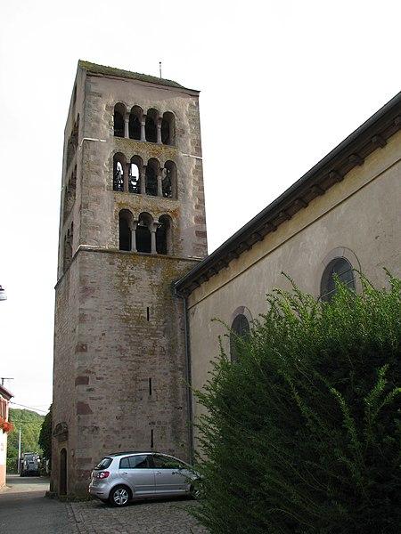 Photo du Monument Historique Eglise catholique Saint-Etienne situé à Osenbach