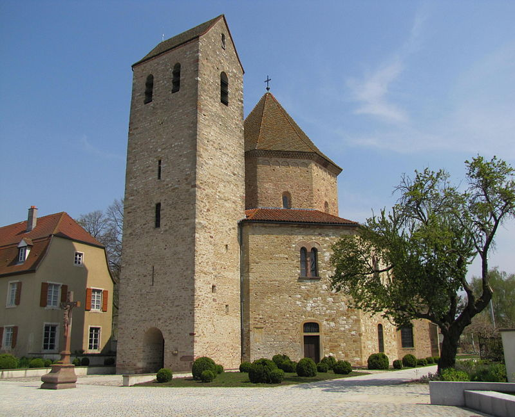 Photo du Monument Historique Abbaye situé à Ottmarsheim