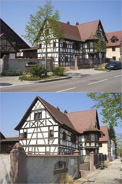 Photo du Monument Historique Maison situé à Ottmarsheim
