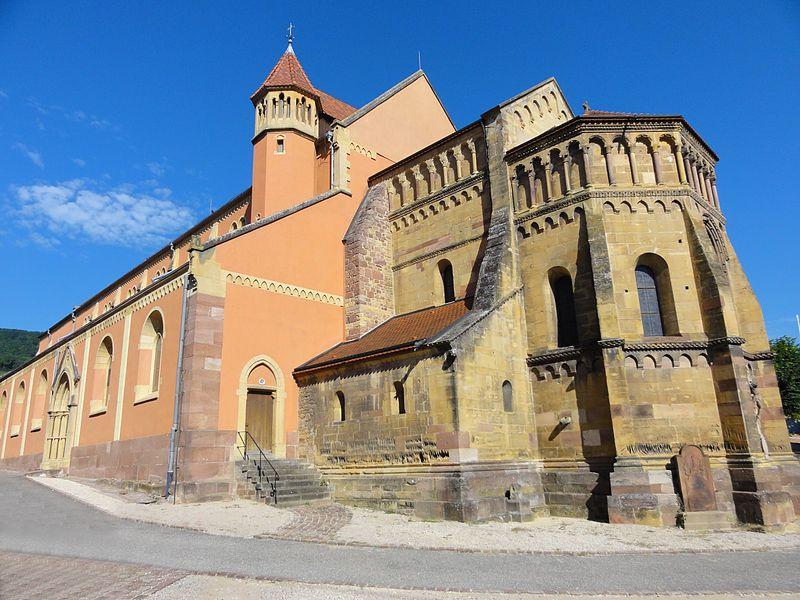 Photo du Monument Historique Eglise catholique Saint-Martin situé à Pfaffenheim