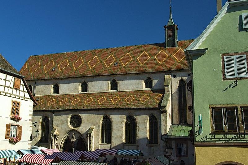 Photo du Monument Historique Ancienne église des Augustins, dite de la Providence situé à Ribeauvillé