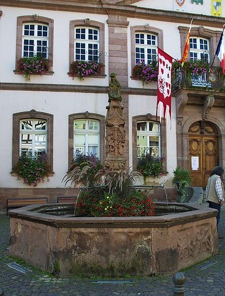 Photo du Monument Historique Fontaine situé à Ribeauvillé